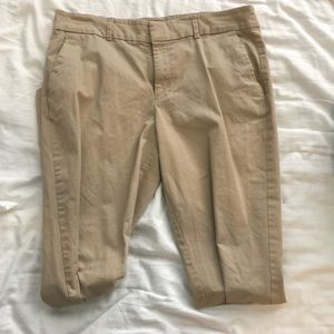 Khakis by Gap size 6